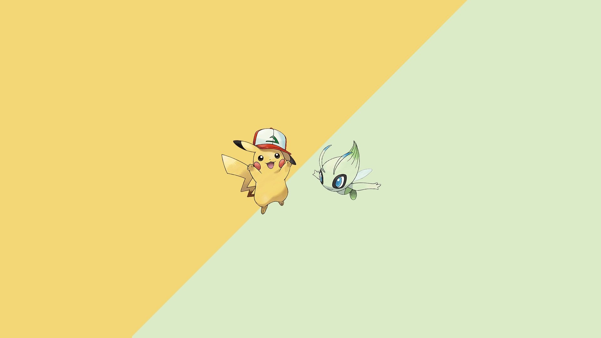 Pikachu, Celebi, Pokémon | Too Far Gone