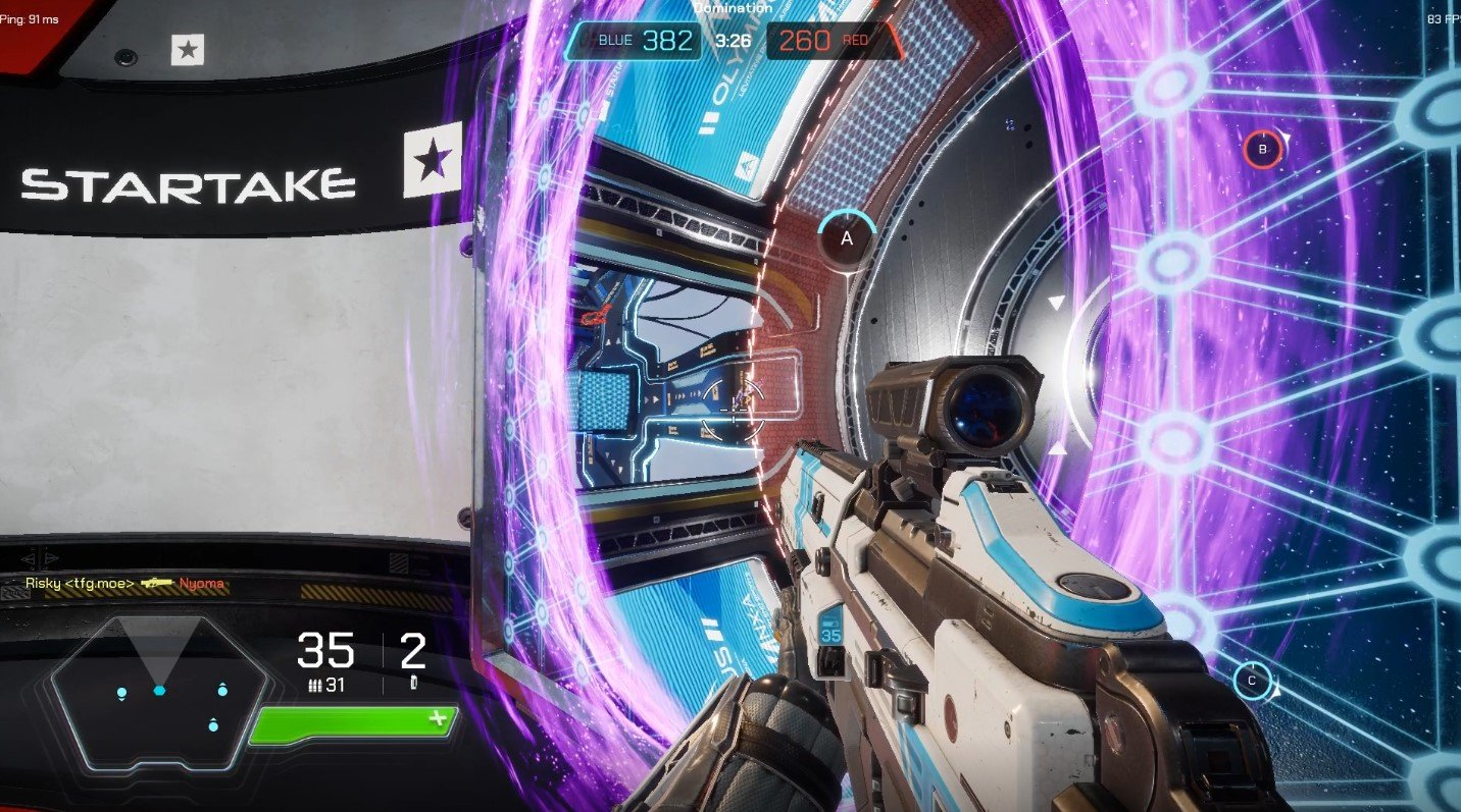 Splitgate beta | Too Far Gone